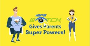 iGPS Watch Promotional Video gives parents super powers