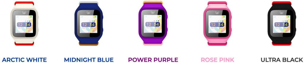 iGPS Wizard Watch comes in five fun colors.
