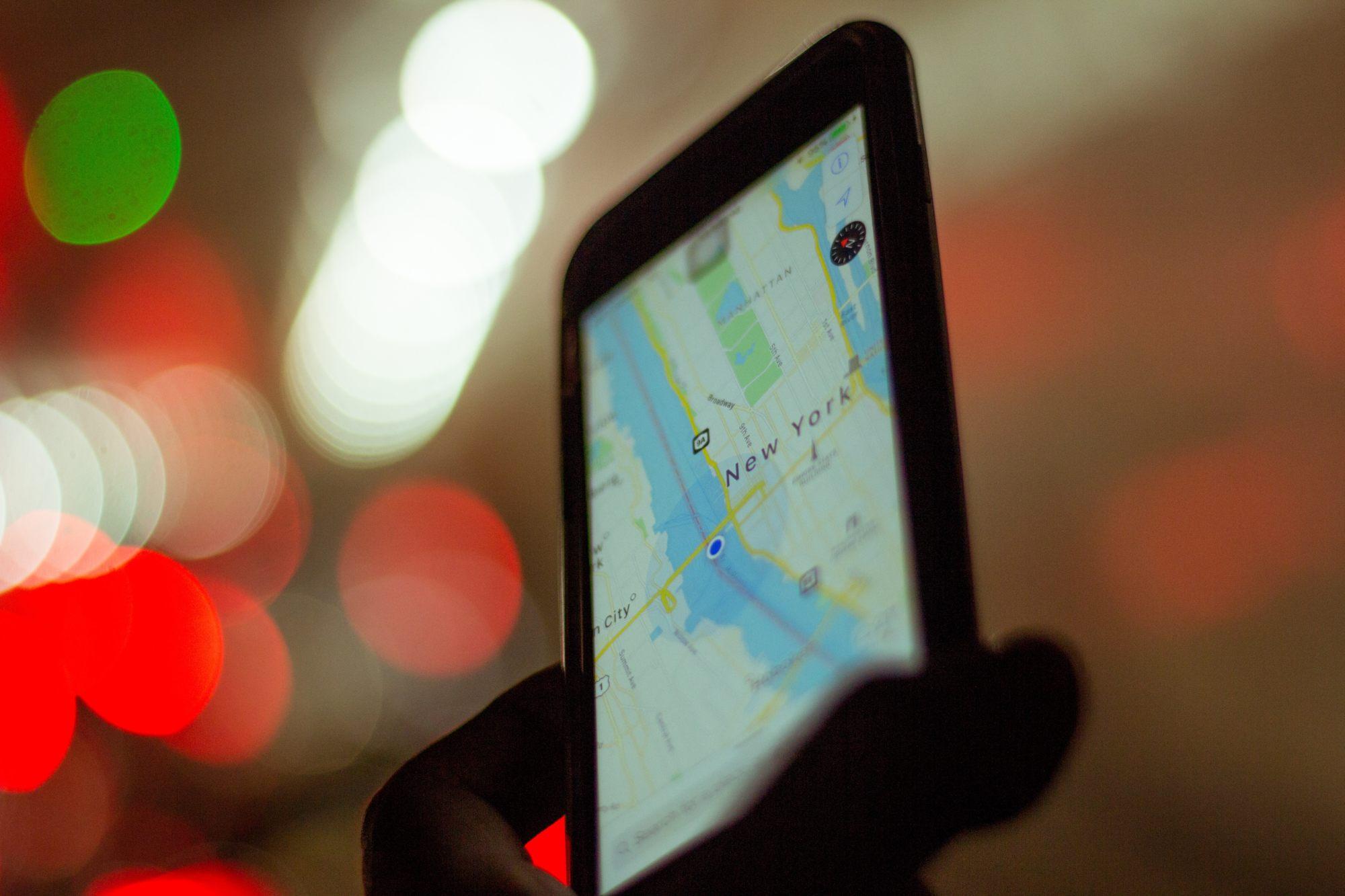 iGPS Watch mobile GPS navigation