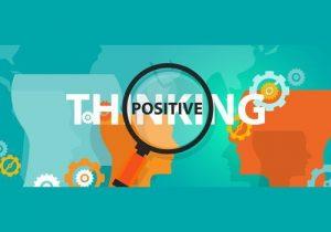 Positive thinking parents equals positive children