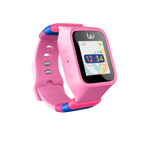 Pink GPS wizard watch for kids