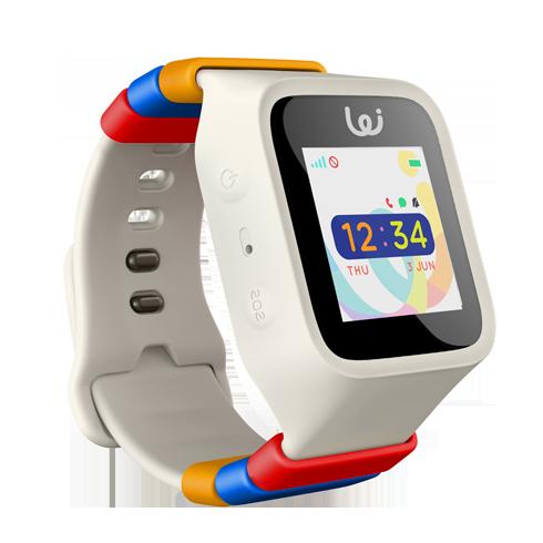 GPS White Wristwatch for Children